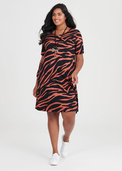 Bamboo Zebra Dress