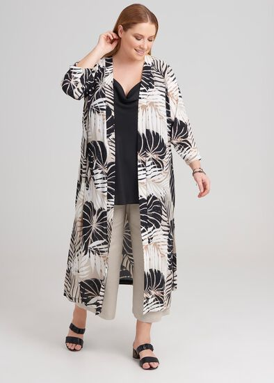Palm Print Duster