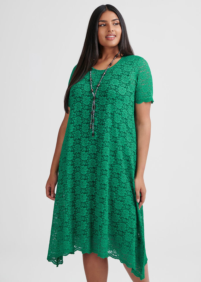 Green With Envy Dress, , hi-res
