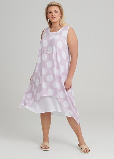 Chianti Spot Dress