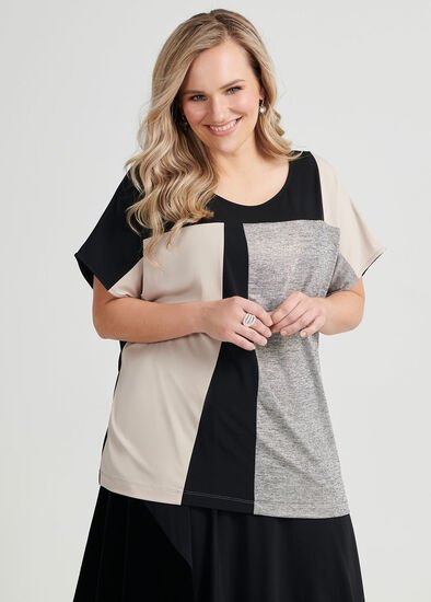 Alice Spliced Shell Top