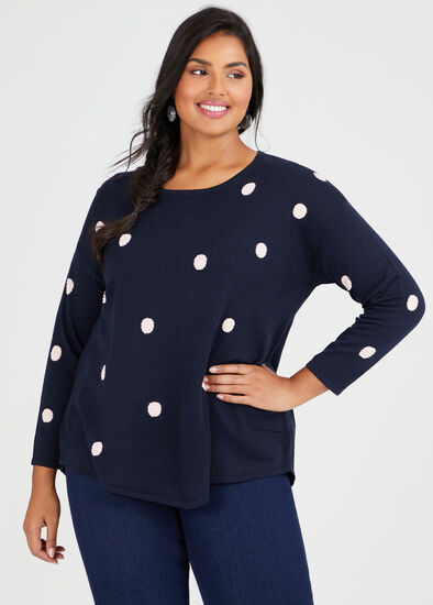 Bamboo Cotton Spot Jumper
