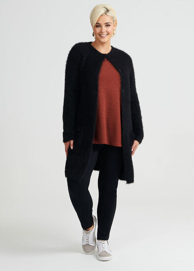 Warm And Fuzz Cardigan