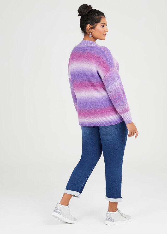 Mix Knit Jumper, , hi-res