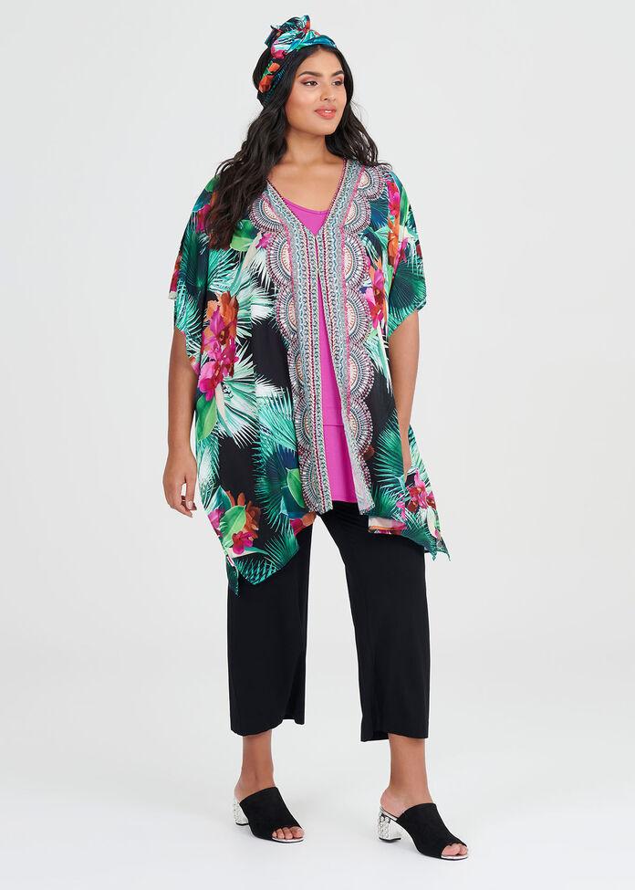 Wategos Viscose Kimono, , hi-res