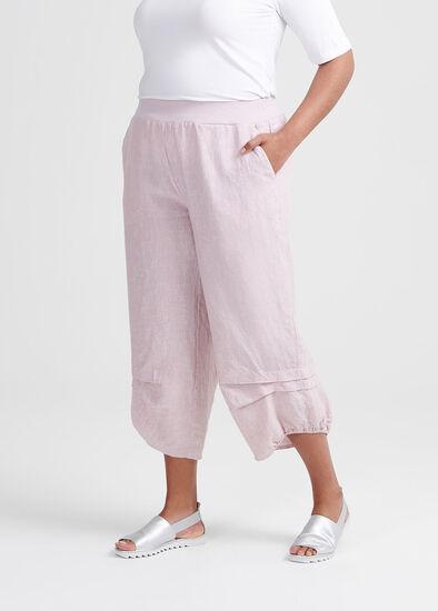 Toile Linen Crop Pant