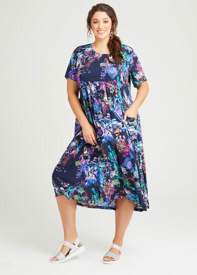 Gina Natural Pocket Dress