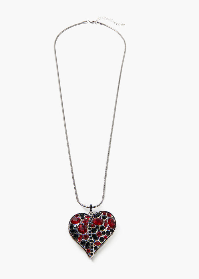 Layla Heart Necklace, , hi-res
