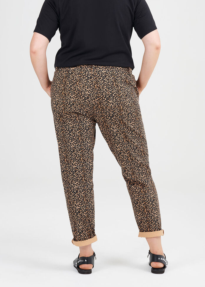 Animal Print Jogger, , hi-res