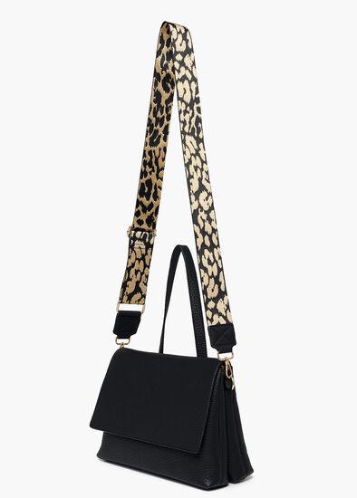 Bonnie Black Crossbody Bag