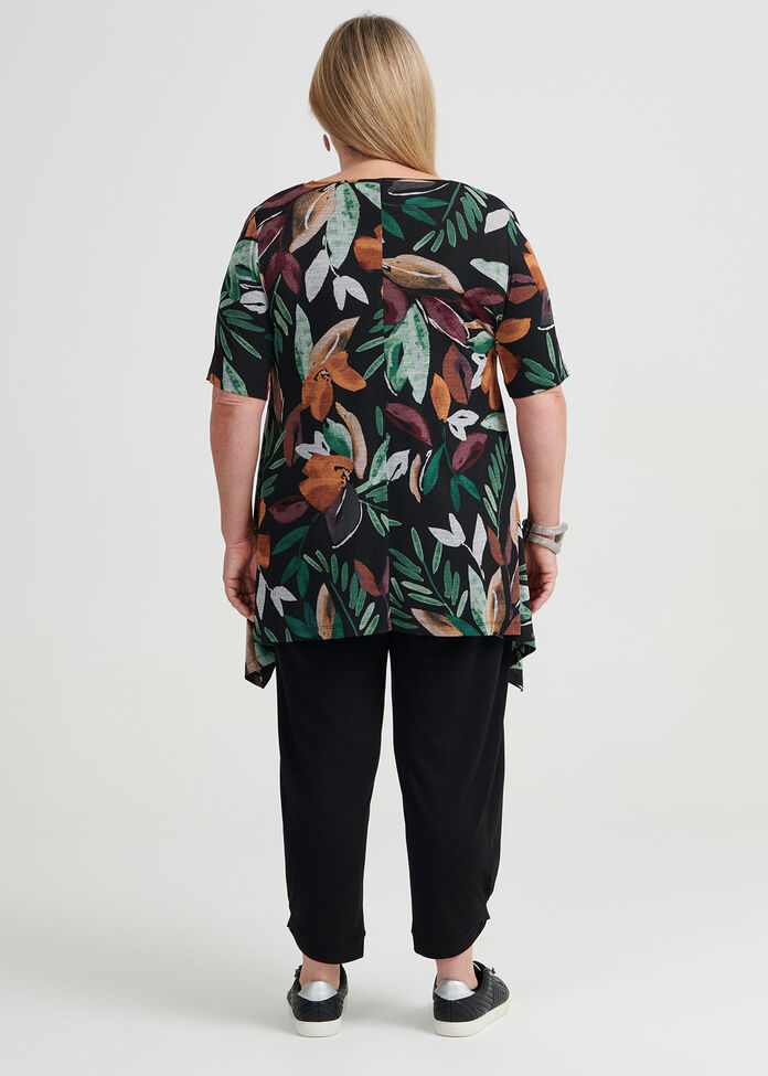 Jungle Short Sleeve Top, , hi-res