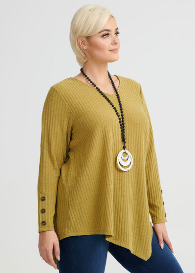 Twilight Button Sleeve Top