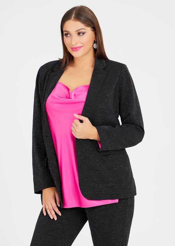 Natalie Lurex Jacket, , hi-res