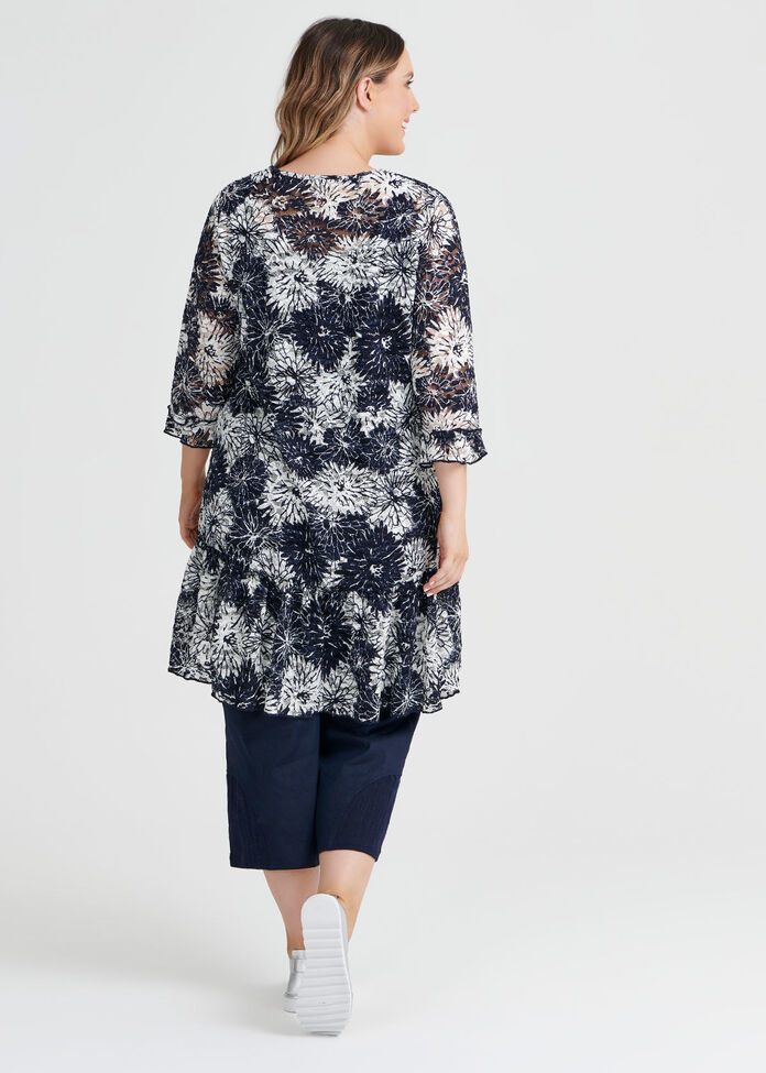 Madeline Lace Tunic, , hi-res