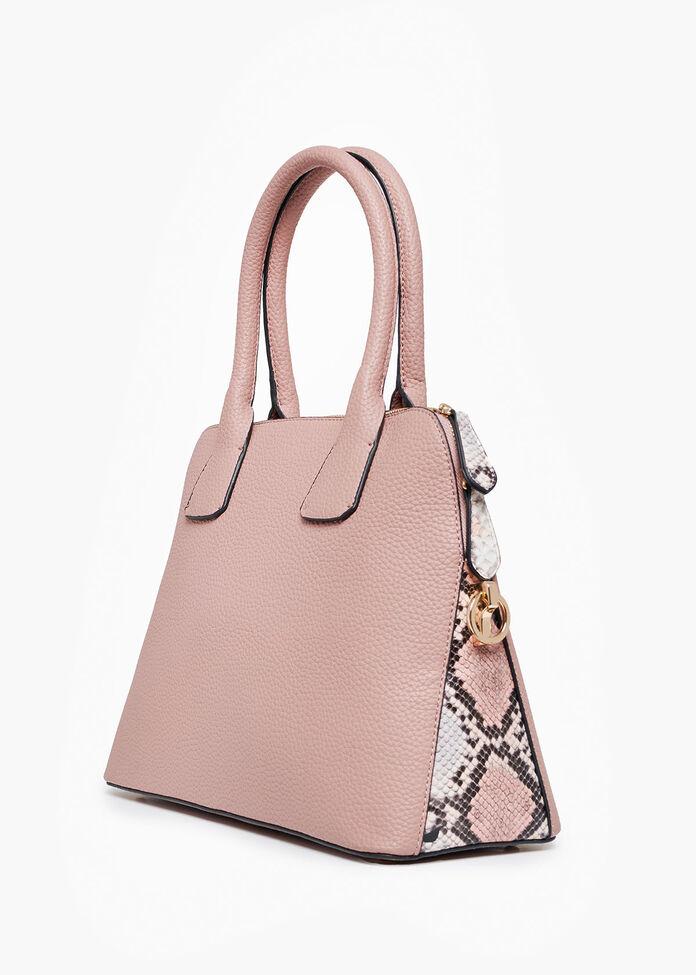 Brooke Blush Snake Bag, , hi-res