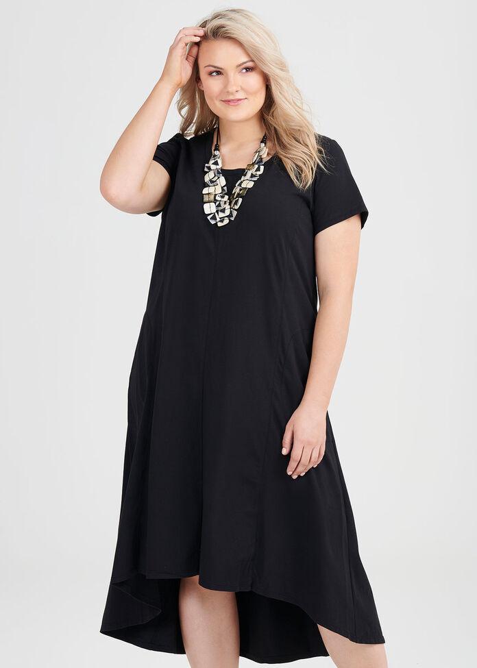 Organic Easyfit Dress, , hi-res