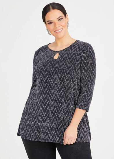 Violetta Lurex Knit Top