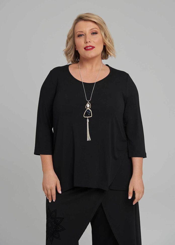 Cora Everyday 3/4 Sleeve Top, , hi-res