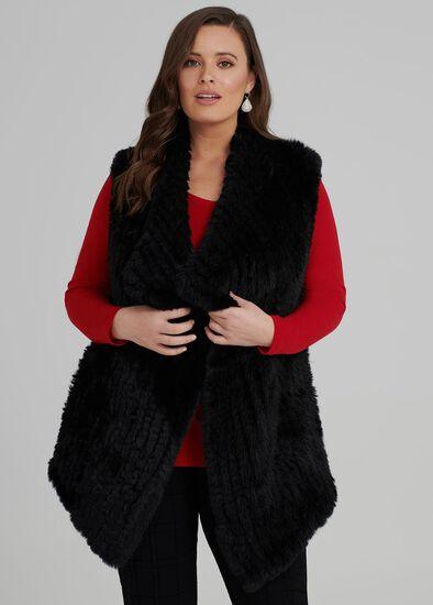 Florence Faux Fur Vest