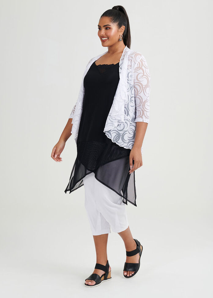 Mesh Summer Days Cardi, , hi-res