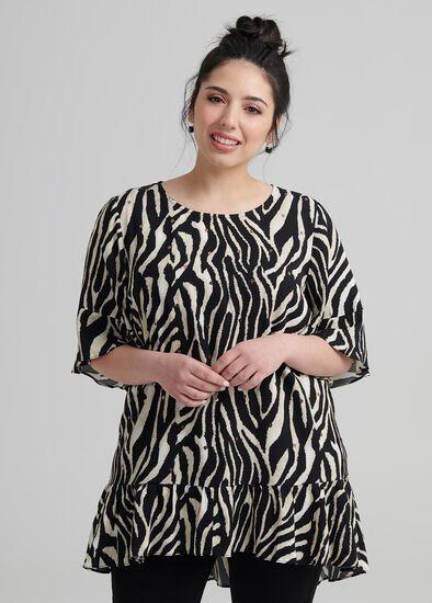 Petite Zebra Tunic
