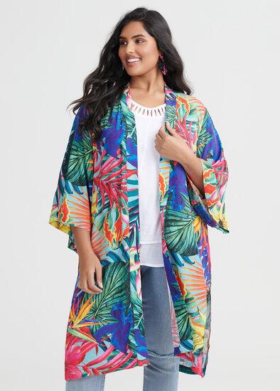 Natural Tropical Kimono