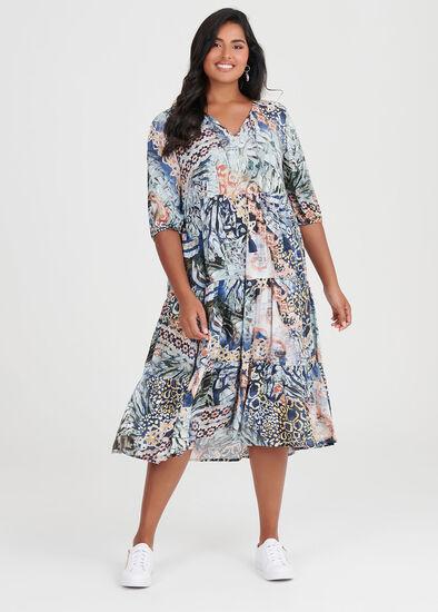 Natural Tropical Dress
