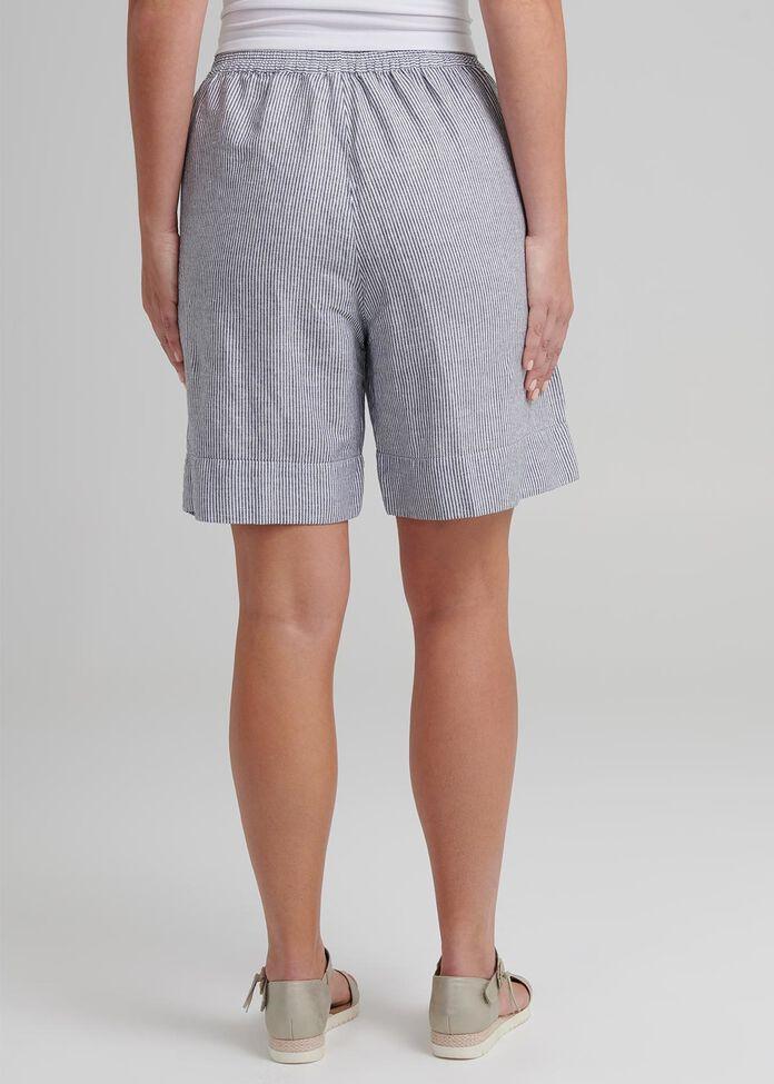 Coastal Stripe Linen Short, , hi-res