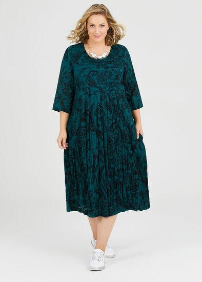Cotton Paisley Dress