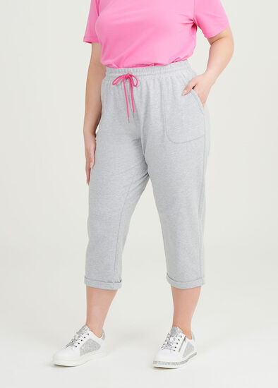 Cotton Cropped Jogger