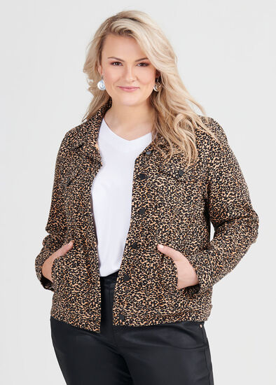 Animal Denim Jacket