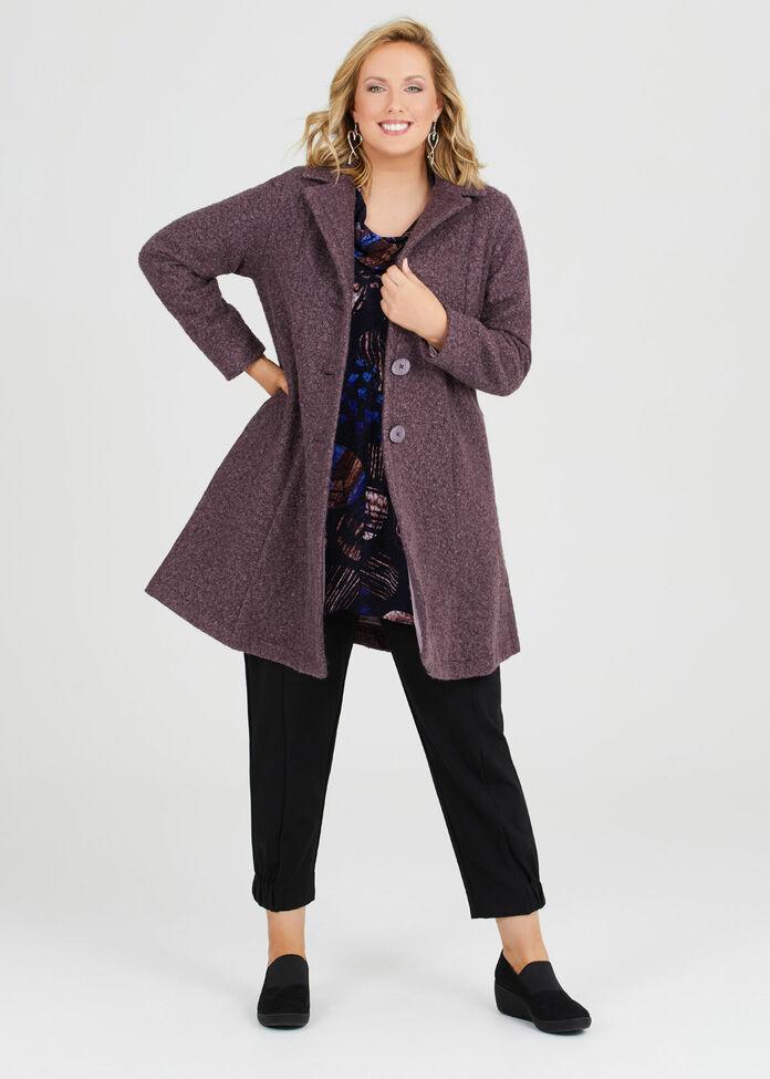 Bliss Faux Fur Coat, , hi-res