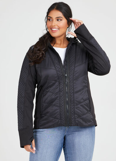 On Repeat Quilted Jacket