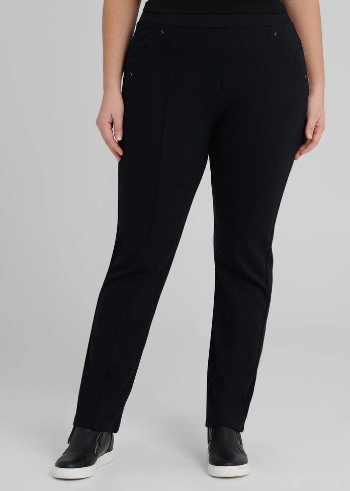 Coco Luxe Straight Pant, , hi-res