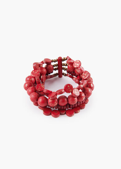 Lady In Red Bracelet
