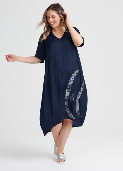 Luxe Blue Lady Dress
