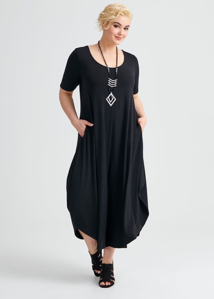 Essential Short Sleeve Jumpsuit, , hi-res