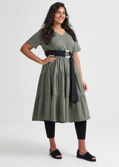 Tiered Organic Dress