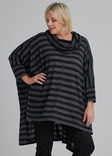 Alpine Stripe Wool Tunic