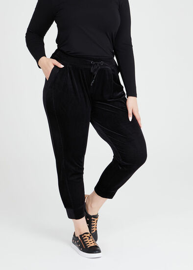 Velour Relaxed Lounge Pant