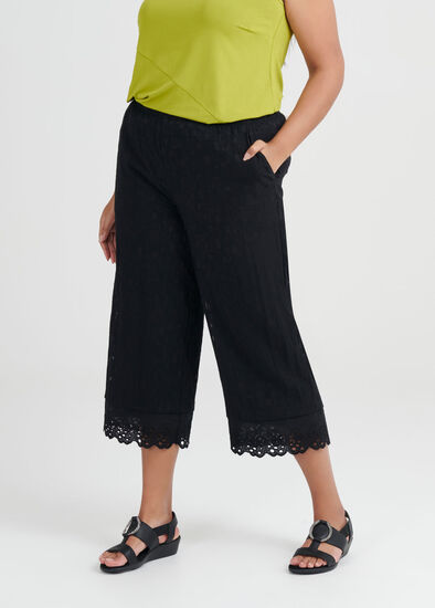 Coastal Escape Crop Pant