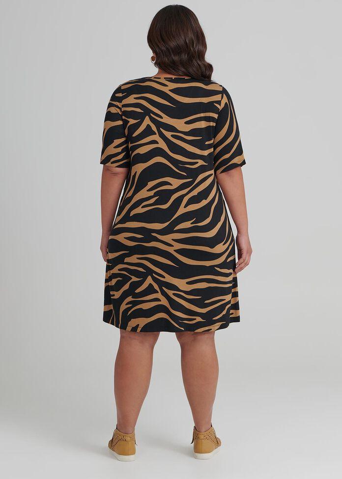 Zebra Bamboo Dress, , hi-res