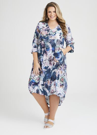 Natural Shannon Tiered Dress