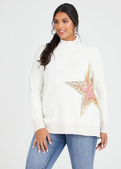Super Star Sequin Jumper