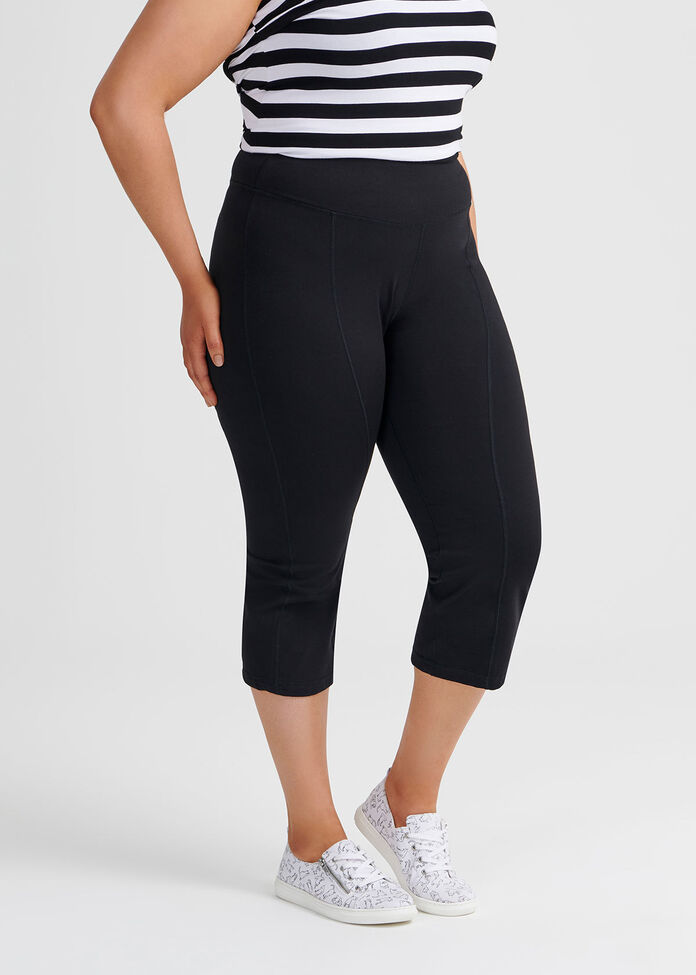 Yoga Organic Crop Pant, , hi-res