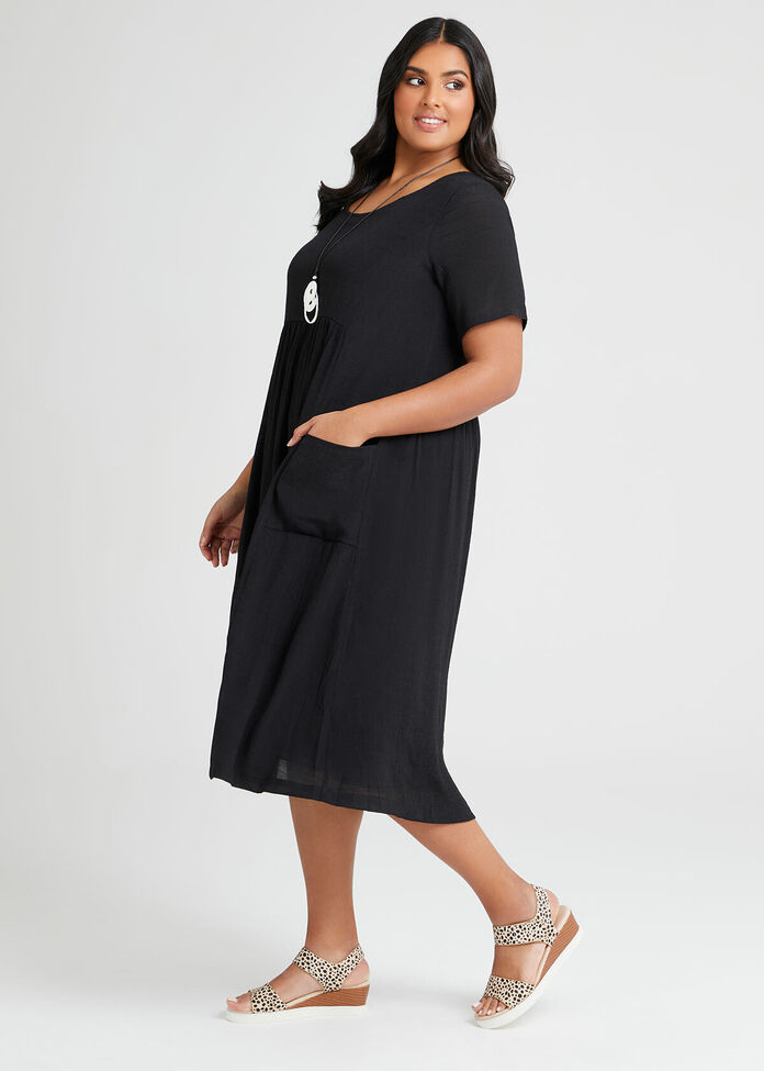 Natural Romance Pocket Dress, , hi-res