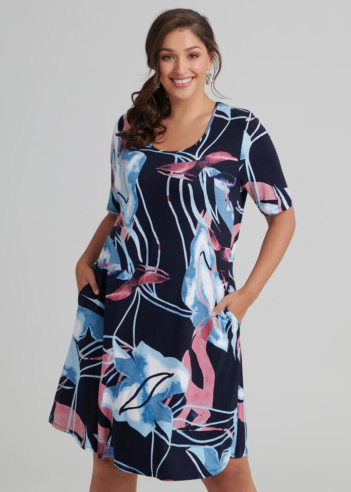 Estelle Bamboo Dress, , hi-res