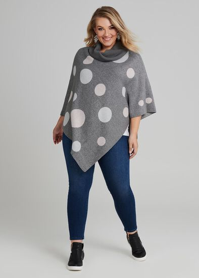 Spotty Dot Poncho
