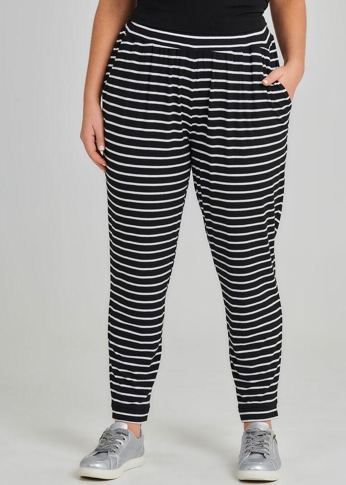The Petite Zen Stripe Pant, , hi-res