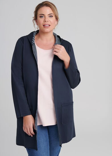 Weekend Hooded Cardigan